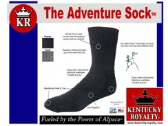 Kentucky Royal Adventure Sock