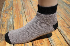 Alpaca Slipper Socks