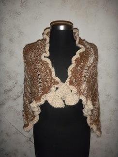 Photo of Suri alpaca shawl, one of a kind