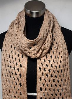DIAMOND CUT scarf