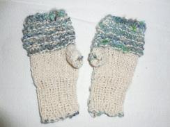 Photo of Knit Alpaca Fingerless Gloves