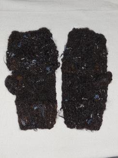 Photo of Suri and Denim Fingerless Gloves