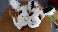 Large Stuffed Alpacas