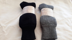 Photo of Superwarm Choice Alpaca Socks: Black
