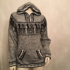Photo of Hooded Alpaca Sweater