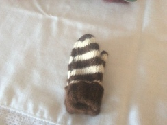 Toddler small mittens