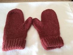 Adult mittens
