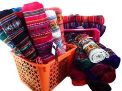 100% Peruvian Handmade Tablecloths