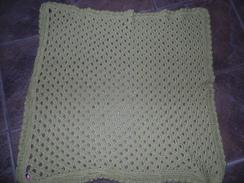 Handmade CrochetAlpaca-Silk Baby Blanket