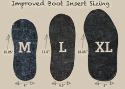Photo of boot inserts