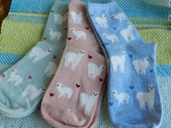 Photo of Alpaca Love Ankle Height Cotton Socks