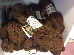 Photo of Yarn: DK Alpaca Brown - George