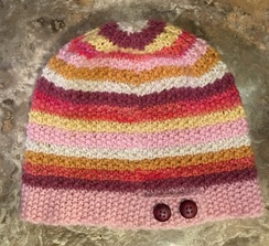 Photo of Hand Knit Alpaca Hat