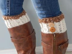 Photo of Alpaca Boot Cuffs