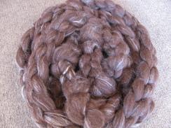 Alpaca & Tussah Silk Roving