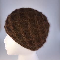 100% Suri Alpaca Hat