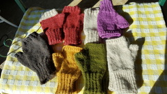 Photo of Fingerless Mitts and Mittens