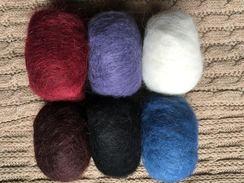 78% Suri Alpaca - Halo Balls
