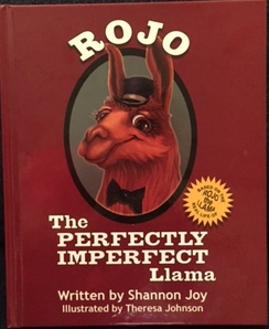 Photo of Rojo The Perfectly Imperfect Llama