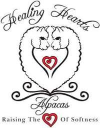 Healing Hearts Alpacas  - Logo