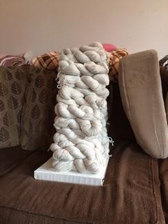Alpaca/Cashmere blend yarn