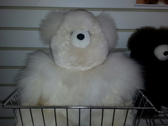 "Photo of 15"" Alpaca Teddy Bear"
