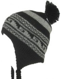 100% Alpaca Chullo Double Knit Hats