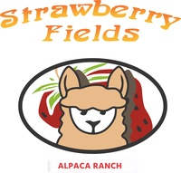 STRAWBERRY FIELDS ALPACA RANCH - Logo