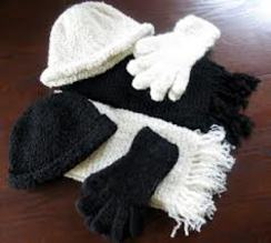 Photo of Boucle Alpaca Gloves