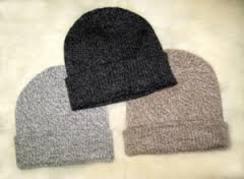 Men's knitted Alpaca hats