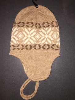Photo of Snowflake Earflap Beanie