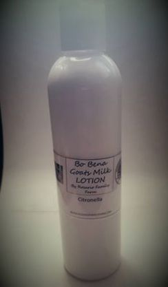 Citronella EO Goats Milk Lotion 8 oz