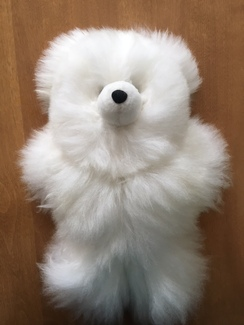 "12"" Premium Alpaca Stuffed Bears"