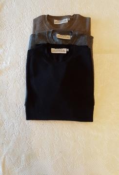 Men's Alpaca Crewneck Sweater