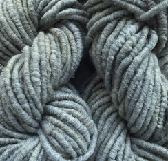 Photo of Core Spun Rug Yarn Gray