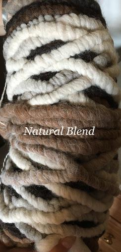 Yarn: Rug Yarn - Multi Natural Colors
