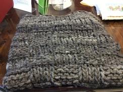 Photo of Big Knit Alpaca Throw