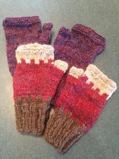 Photo of FFAF class - Fingerless Gloves