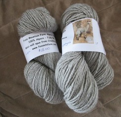 Alpaca Yarn from Cracklin Rosie