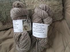 Alpaca Yarn from Gunny and Purple Rain