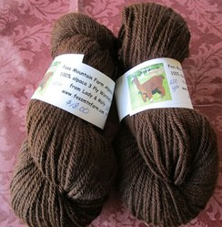 Alpaca Worsted Wt Yarn from Lady & Molly