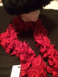 Curly Cue Scarf