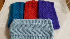 Hand knitted Headbands