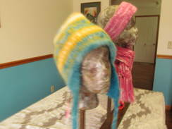 Felted Hat with Ear Flaps