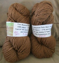 Alpaca yarn from Sammy & Tupelo Honey