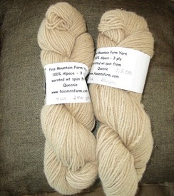 Alpaca Yarn from Queenie