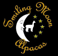 Smiling Moon Alpacas - Logo