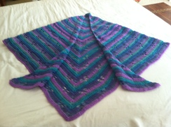 Photo of Dragonfly Shawl
