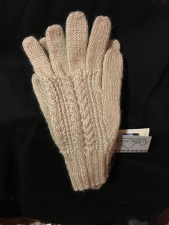 Photo of Ladies Classic Cable Knit Gloves