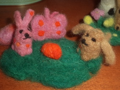 Felted Alpaca Products